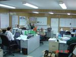 Iraq Trailer Office in Basra 2003