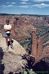 USA 1999 - Spider Rock in Canyon de Chelly N.M.